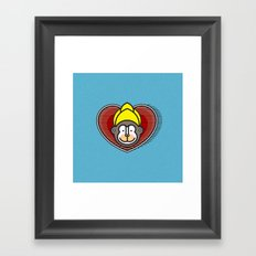 Indian Monkey God Icon Framed Art Print