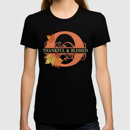 Thanksgiving O Monogram T-shirt