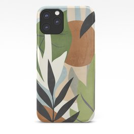 Abstract Art Jungle 4 iPhone Case