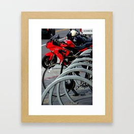 On And Off The Rack Framed Art Print