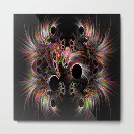Black holes symphony Metal Print