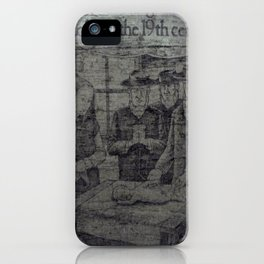 Colic In The 19th iPhone Case