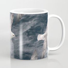 Seagull flying over Arctic Ocean Coffee Mug