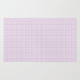 Not Your Granny's Square Pattern in Millennial Pink Rug