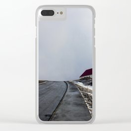 Icelandic Church Clear iPhone Case