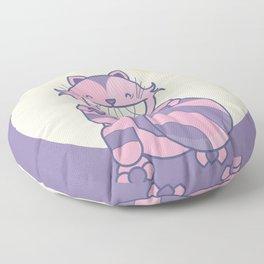Cheshire Cat - Alice in Wonderland Floor Pillow
