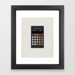 "Vintage Calculator Series: ""Aristo M 85"" Framed Art Print"