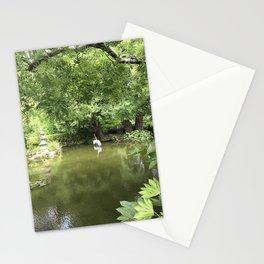Japanese Tea Garden pond Stationery Cards
