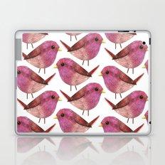 Purple Finch Laptop & iPad Skin