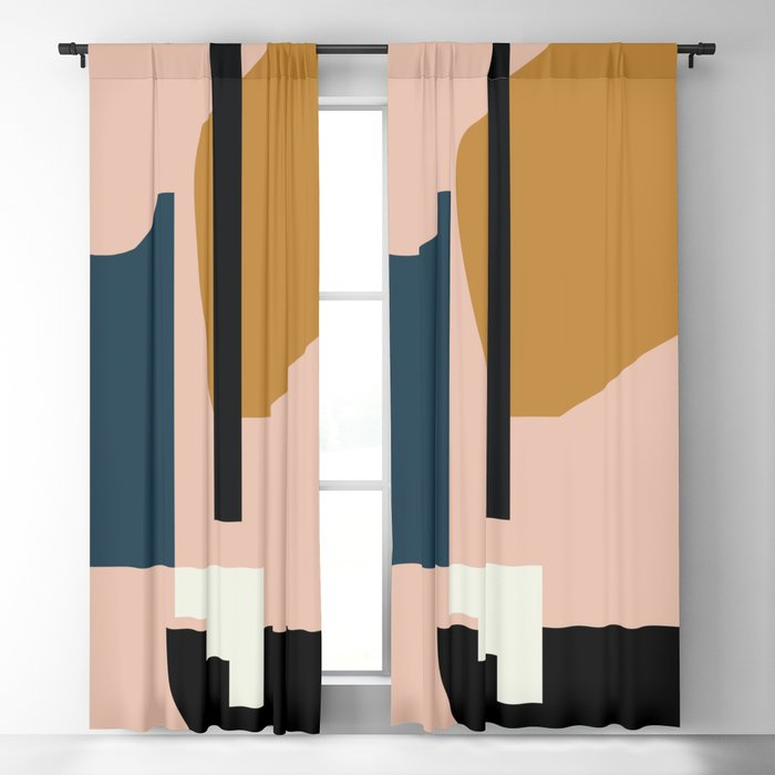 Shape study #2 - Lola Collection Blackout Curtain