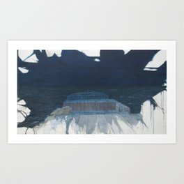 Nightwatch on a Container-Ship Art Print