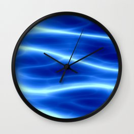Blue flame Wall Clock