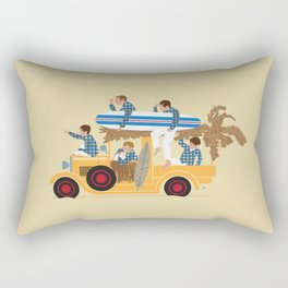 Surfin Safari Rectangular Pillow