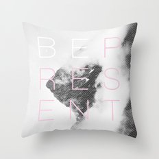 Be Present Throw Pillow