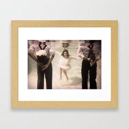 Falling In Falling Under Framed Art Print