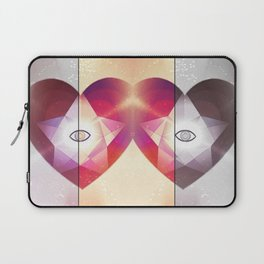 Tri-Color Jewish Star Of Protection Laptop Sleeve