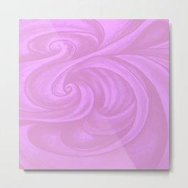 neon pink II Metal Print