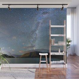 New Zealand Southern Hemisphere Skies Over Lake Wakatipu Wall Mural