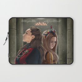 Clexa Medieval AU Laptop Sleeve