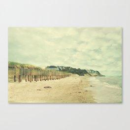 Beach on the Cape Canvas Print