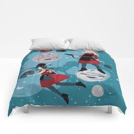 Cosmic Hairdresser Moon Landing Comforters