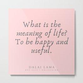 126 | Dalai Lama Quotes 190504 Metal Print