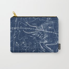 Taurus sky star map Carry-All Pouch