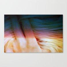 hair twist Canvas Print