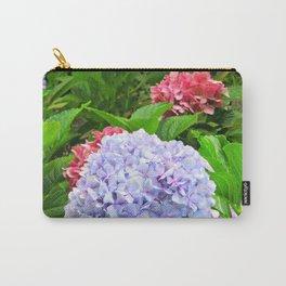 Hydrangeas in Bloom Carry-All Pouch