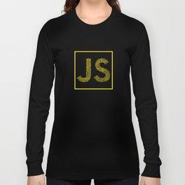 Javascript wordcloud shirt for JS Logo Long Sleeve T-shirt