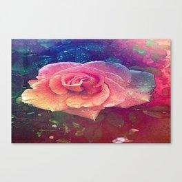 wetrose Canvas Print