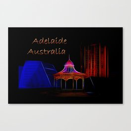 Electrified Adelaide Canvas Print