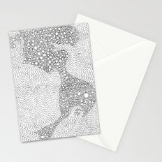 the mole's hyperacidity | white Stationery Cards
