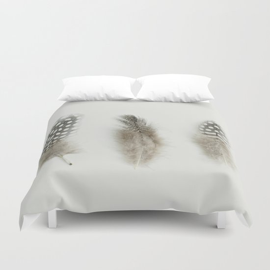 pheasant feathers Duvet Cover
