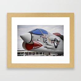 1957 F-8K Crusader Framed Art Print