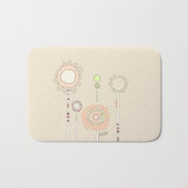 Little Daisies Bath Mat