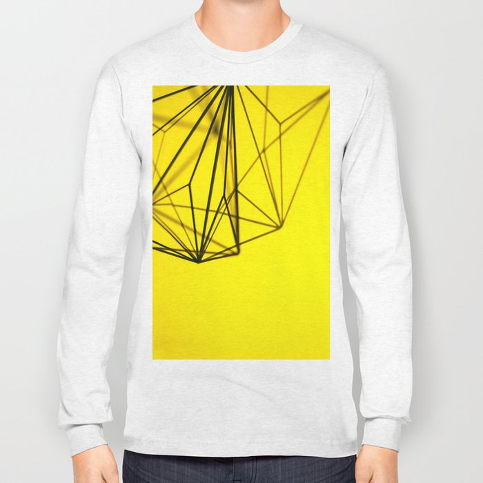 Yellow shape Long Sleeve T-shirt