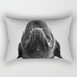 THE DOGUE monochrome Rectangular Pillow