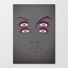 K. Canvas Print
