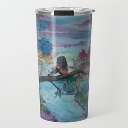 Lost In Thoughts Travel Mug