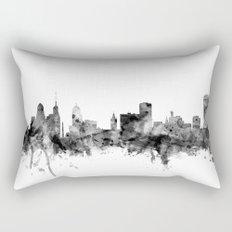 Buffalo New York Skyline Rectangular Pillow