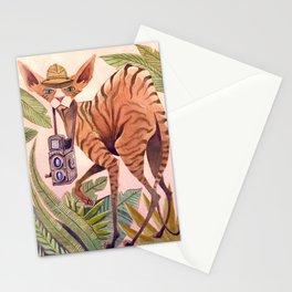Safari Sphynx Stationery Cards