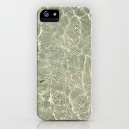 Toes In The Sand iPhone Case