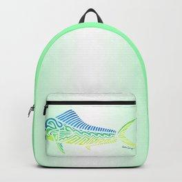Tribal Mahi Mahi Backpack