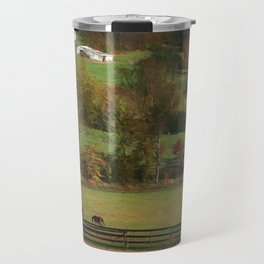 Autumn in the Country Travel Mug