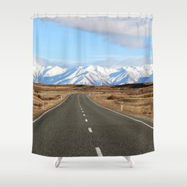 White Cap Journey Shower Curtain