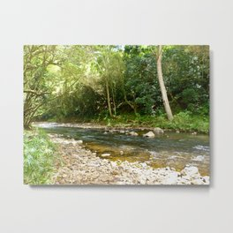 Into the Woods We Go Metal Print