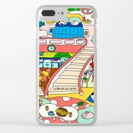 La Maison du Lapino Clear iPhone Case
