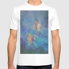 the folks Mens Fitted Tee White MEDIUM