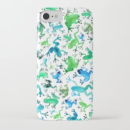 Tree Frogs iPhone Case
